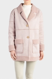 Coco + Carmen Faux Shearling Jacket - Front cropped
