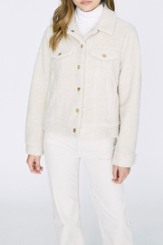 Sanctuary Faux Sherpa Jacket - Front cropped