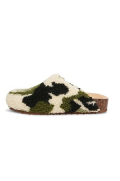 O Limit Fashion Faux Sherpa Mule - Alternate List Image