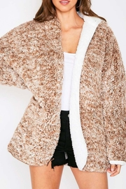 Fantastic Fawn Faux Sherpa Reversible Jacket - Front cropped