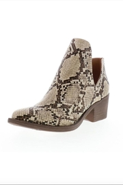 Very Volatile Faux Snakeskin Bootie - Product Mini Image
