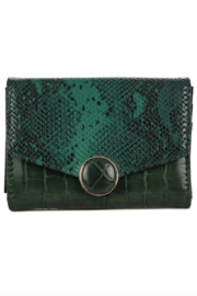 Anarchy Street Faux Snakeskin Wallet - Product Mini Image