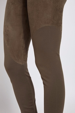 Lyssé Faux Suede Angle Seam Leggings - Alternate List Image
