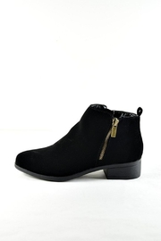 Bamboo Faux Suede Bootie - Product Mini Image