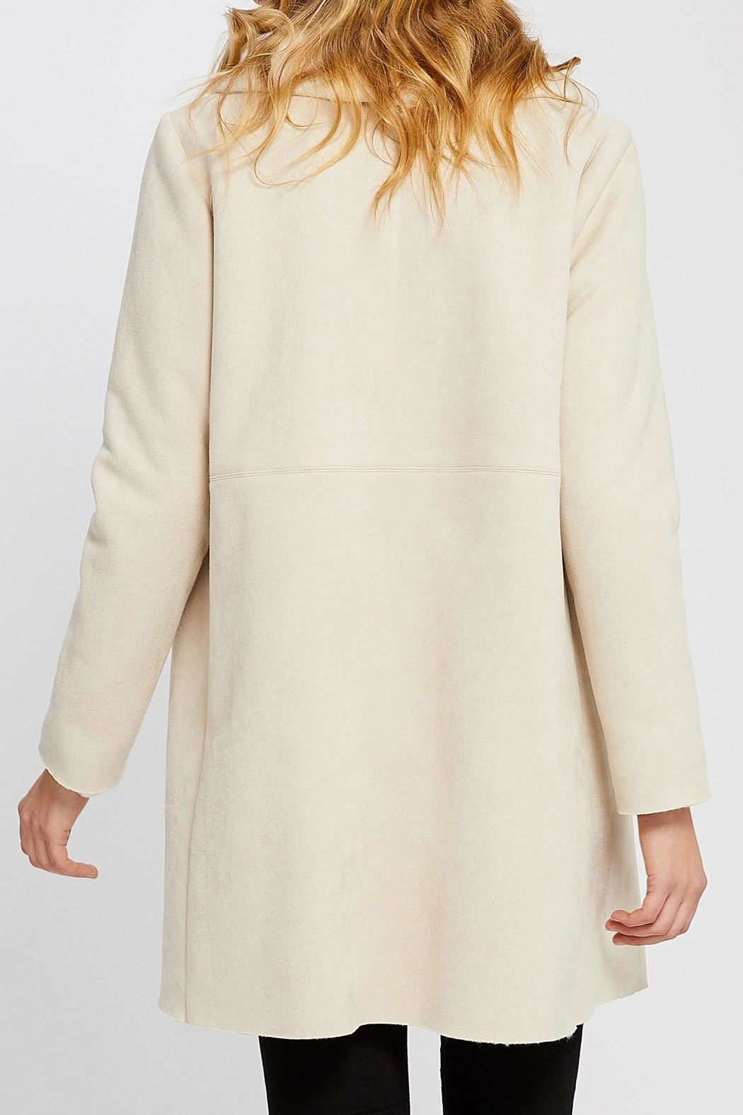 Gentle Fawn Faux Suede Coat - Side Cropped Image
