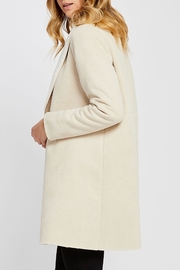 Gentle Fawn Faux Suede Coat - Front full body