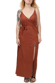 Volcom Faux Suede Dress - Product Mini Image