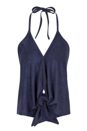 Bishop + Young Faux Suede Halter - Product Mini Image