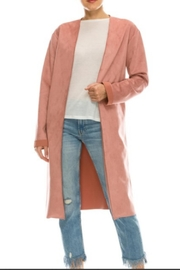 Starrs On Mercer Faux Suede Jacket - Product Mini Image
