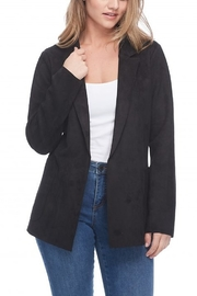 FDJ French Dressing FAUX SUEDE JACKET - Front cropped