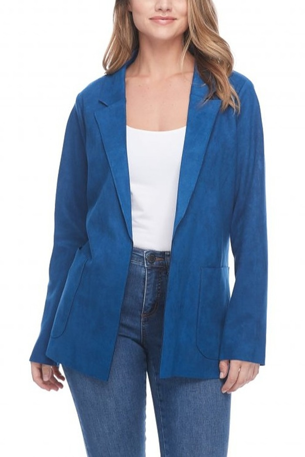 FDJ French Dressing FAUX SUEDE JACKET - Front Cropped Image