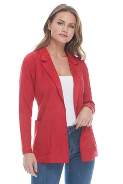 FDJ French Dressing Jeans Faux Suede Jacket - Alternate List Image