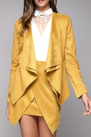 Do & Be Faux Suede Jacket - Product Mini Image