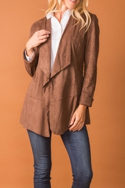 Simply Noelle Faux Suede Jacket - Product Mini Image