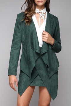 Do & Be Faux Suede Jacket - Product List Image