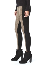 Madonna & Co Faux Suede Legging - Front full body