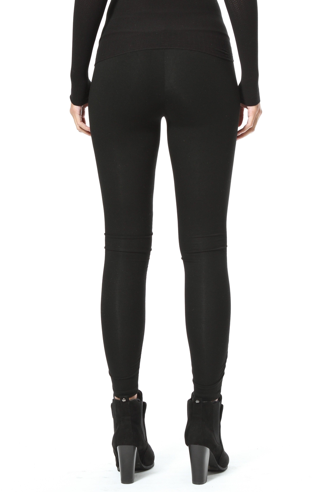 Madonna & Co Faux Suede Legging - Side Cropped Image