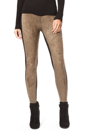 Madonna & Co Faux Suede Legging - Front cropped