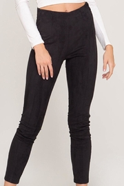 She + Sky Faux Suede Leggings - Product Mini Image
