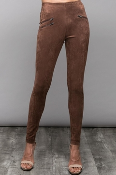 Do & Be Faux Suede Pants - Product List Image