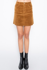Signature 8 Faux Suede Skirt - Product Mini Image
