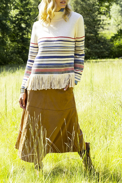 Tyler Boe Faux Suede Skirt - Product List Image