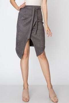 Favlux Faux Suede Skirt - Product List Image