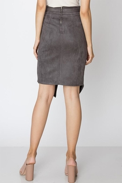Favlux Faux Suede Skirt - Alternate List Image