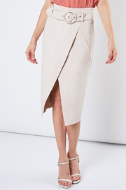 Do & Be Faux Suede Skirt - Product Mini Image