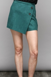Do & Be Faux Suede Skort - Product Mini Image