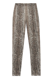 Fifteen Twenty Faux Suede Snakeskin Pull on Pant - Product Mini Image
