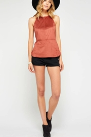 Gentle Fawn Faux Suede Tank - Product Mini Image