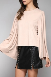 Do & Be Faux Suede Top - Product Mini Image