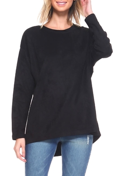 JOH Faux-Suede Tunic Top - Product List Image