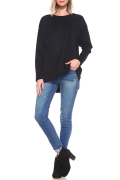 JOH Faux-Suede Tunic Top - Alternate List Image