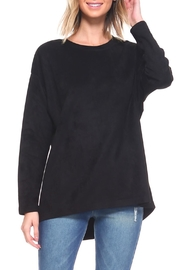Joh Apparel Faux-Suede Tunic Top - Product Mini Image