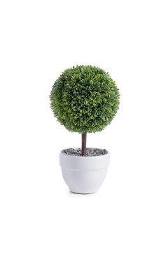 Torre & Tagus Faux Topiary Boxwood - Product List Image