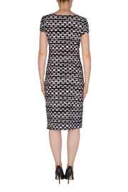 Joseph Ribkoff Faux-Wrap Dress - Side cropped