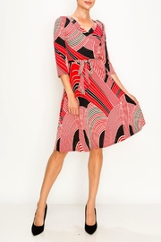 Miss Darlin Faux Wrap Dress - Product Mini Image
