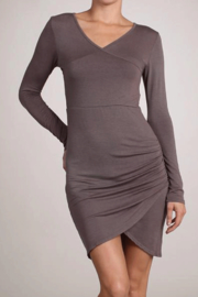 Chatoyant  Faux Wrap Dress - Product Mini Image
