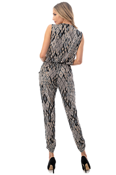Ariella USA Faux Wrap Jogger Jumpsuit - Alternate List Image