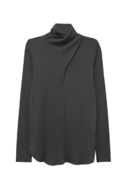 Fifteen Twenty Faux Wrap Turtleneck - Product Mini Image