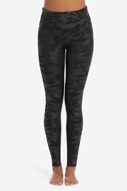 Spanx Fauxleather Camo Leggings - Front cropped