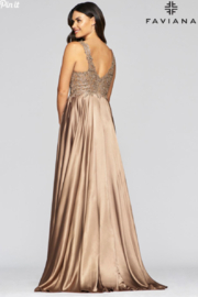 Faviana Evening Gown 10407 - Side cropped