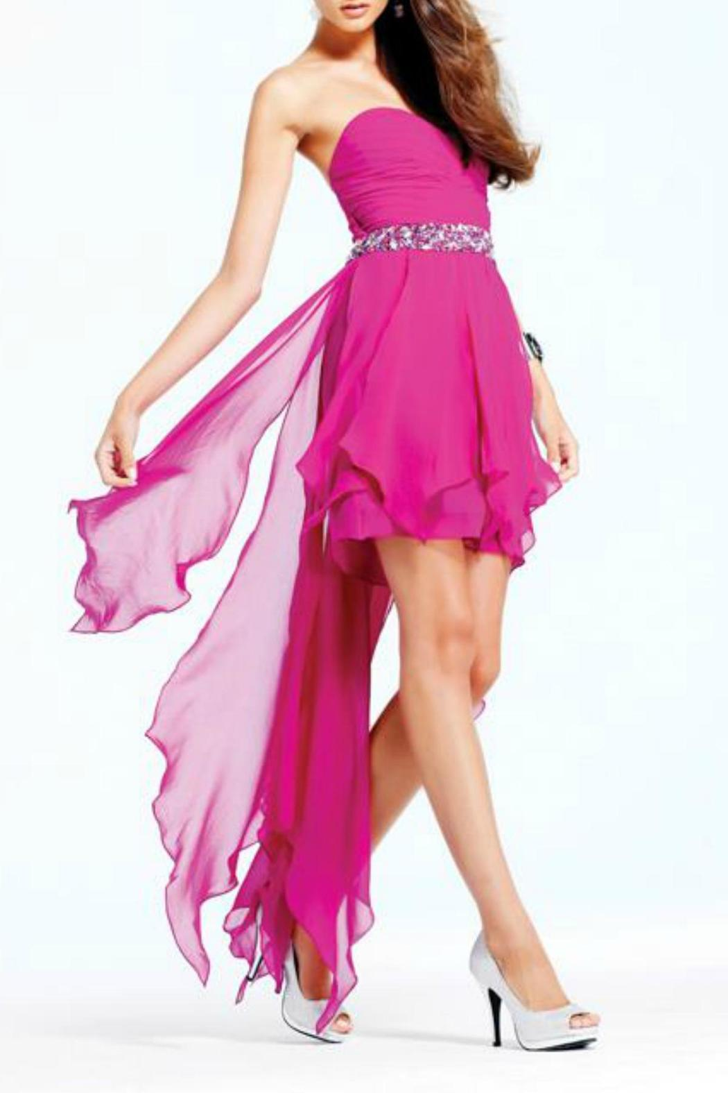 Faviana couture high low dress from arizona by beth for High couture dresses