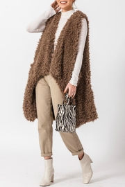 Favlux Anna Faux-Fur Vest - Product Mini Image
