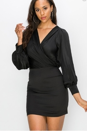 Favlux Bell Sleeve Dress - Front cropped