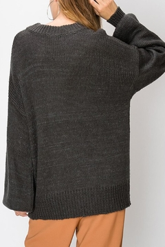 Favlux Ballooon Sleeve Sweater - Alternate List Image