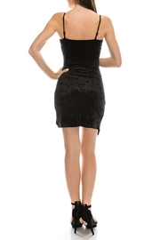 Favlux Black Asymmetrical Dress - Side cropped