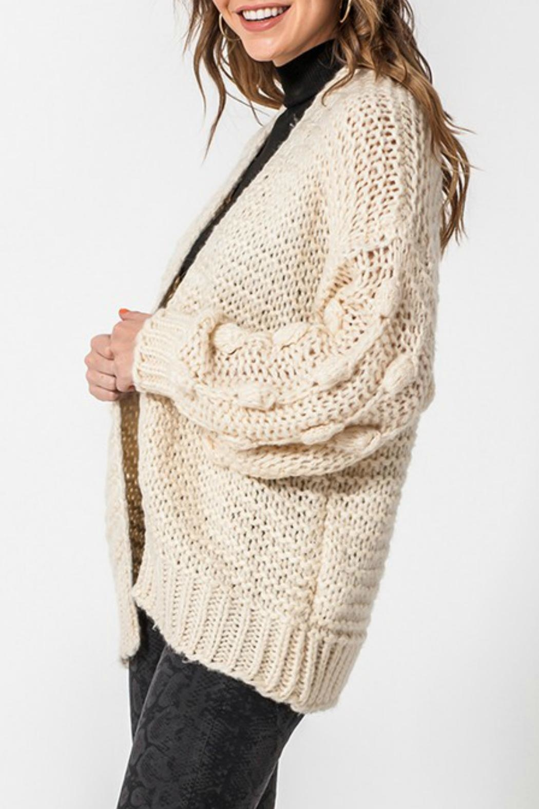 ALB Anchorage Bobble Cardigan - Side Cropped Image